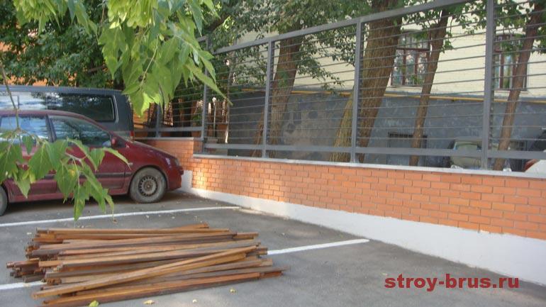 Первый этап реконструкции деревянных конструкций