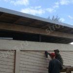 Шлифовка стен дома из бревна