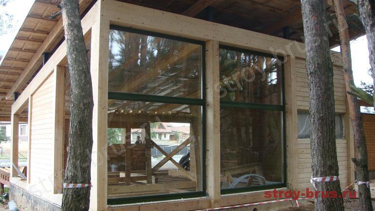 Порядок проведения шлифовки деревянного дома