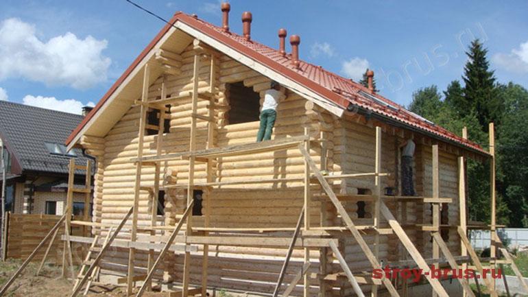 Как сделать шлифовку стен деревянного дома без вреда для здоровья