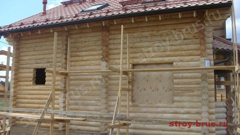 Где заказать услугу шлифовки стен деревянного дома из бревна