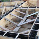 Опалубка под фундамент дома
