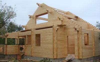 Сборка деревянных домов