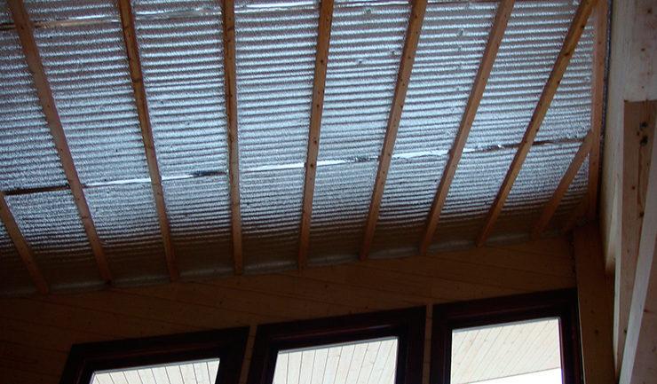 Теплоизоляция потолков