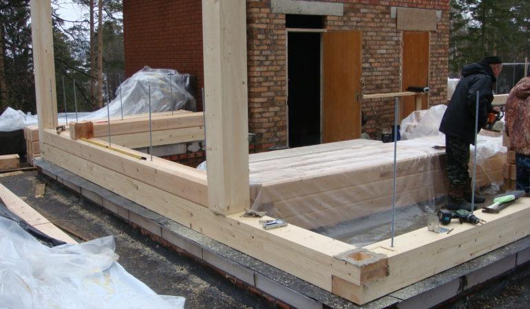 Процесс строительства экологичного дома