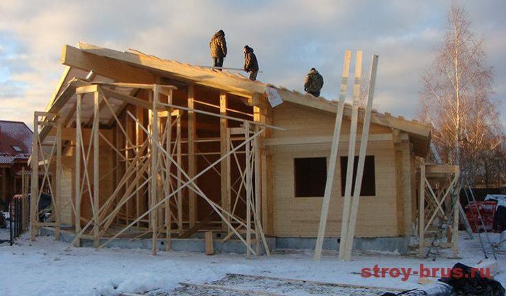 Крыша готова к монтажу черепицы