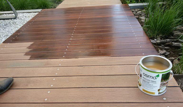 Работа по восстановлению эстетики деревянной конструкции