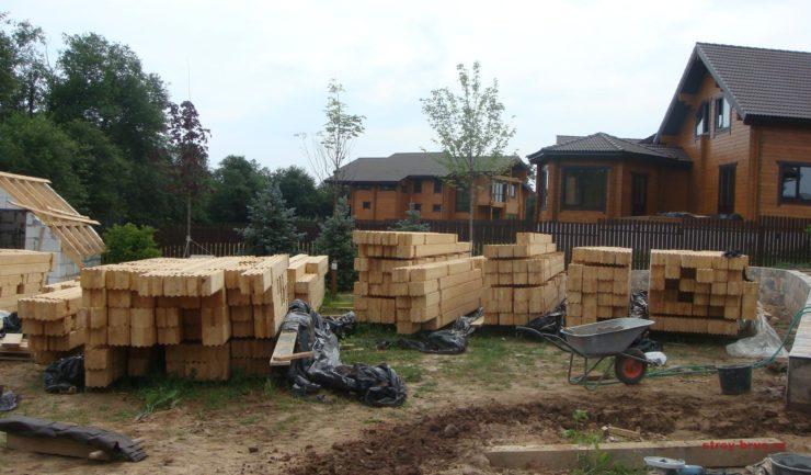 Брус для строительства деревянной бани
