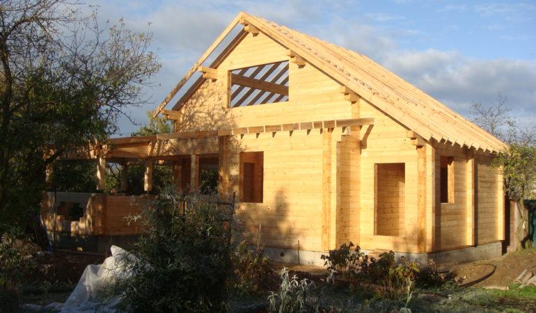 Завершающий этап строительства дома с баней д. Шохово