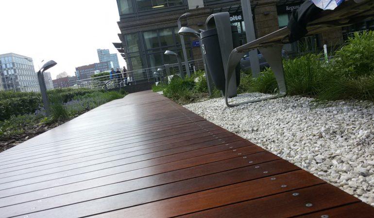 Реконструкция деревянных изделий БЦ «LIGHTHOUSE»