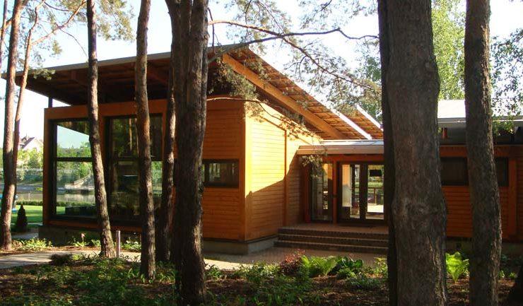 Готовый фасад гостевого дома