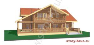 3D-модель дома Семейный