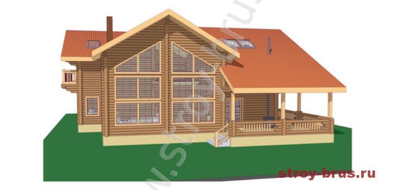 Деревянные дома для постоянного проживания