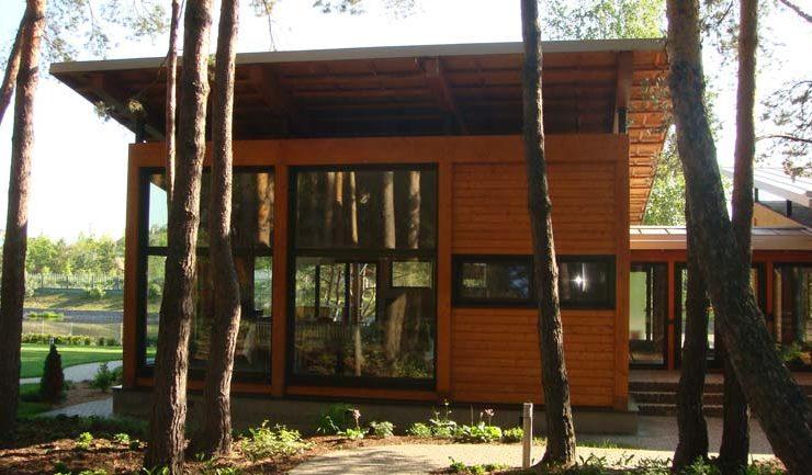 Гостевой дом из клееного бруса в Звягино