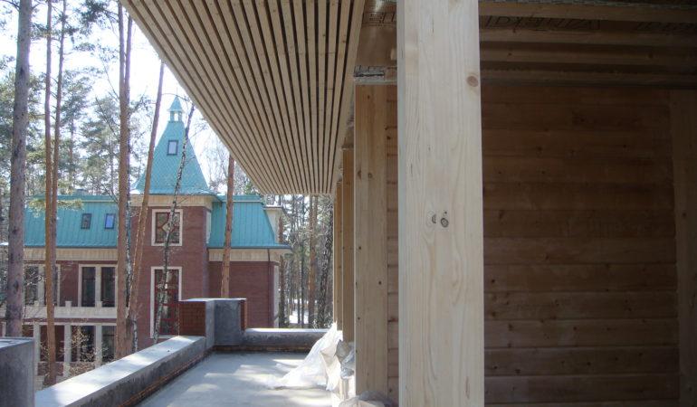 Процесс отделки внешних поверхностей дома