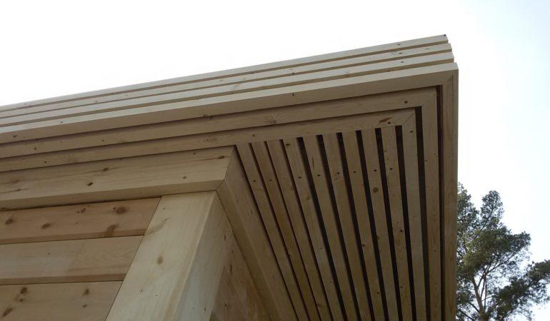 Отделка деревянными конструкциями