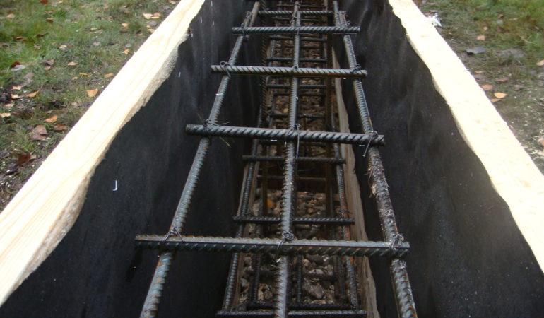 Строительство фундамента для бани Новорижское шоссе