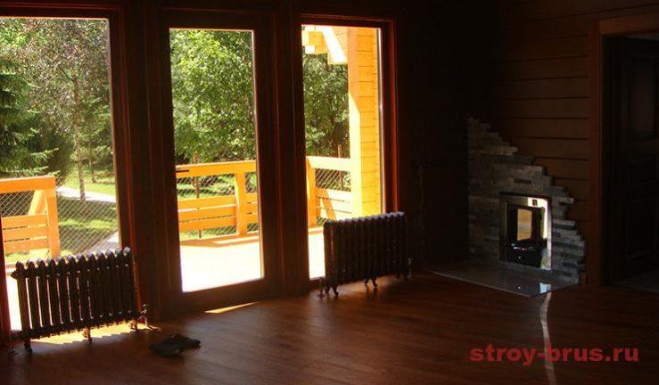 Красивый и комфортный дом по завершению строительства