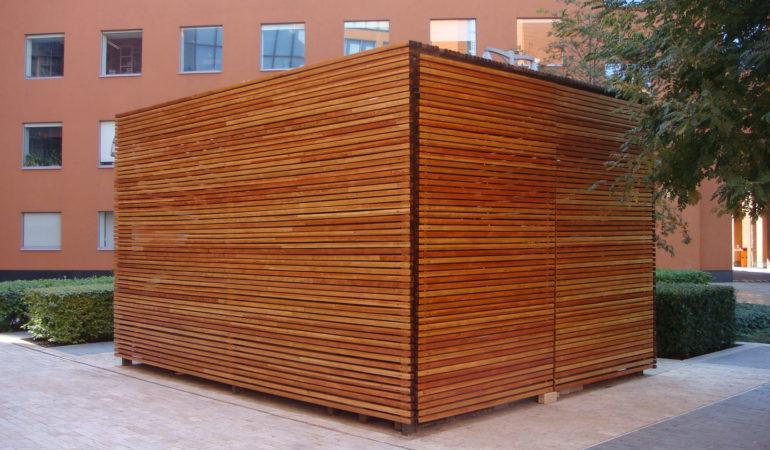 Готовая деревянная конструкция