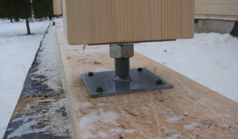 Технология крепления деревянных свай