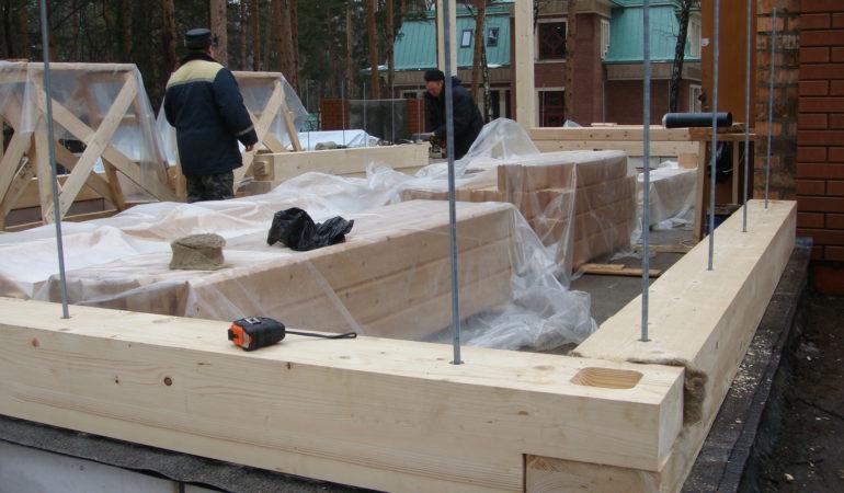 Активная стадия строительных работ