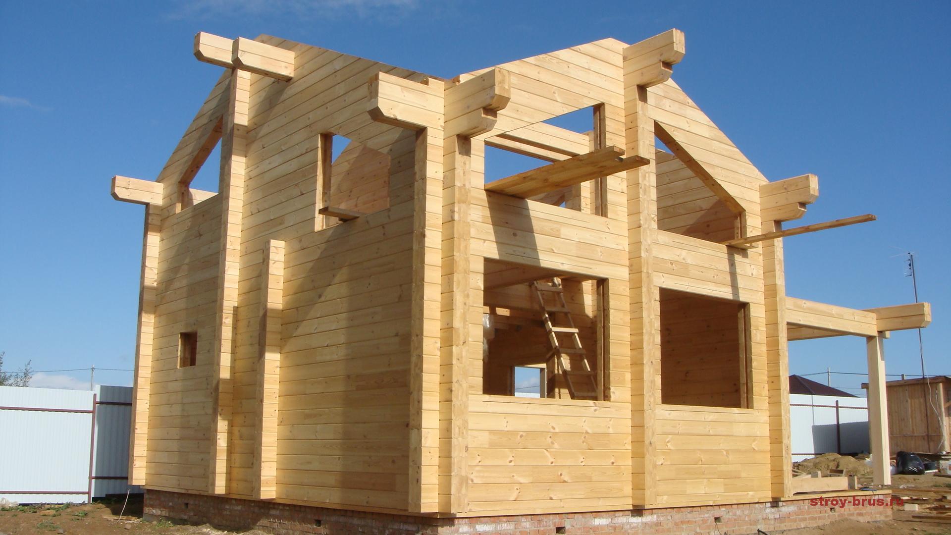 Этапы строительства деревянного дома - пошагово