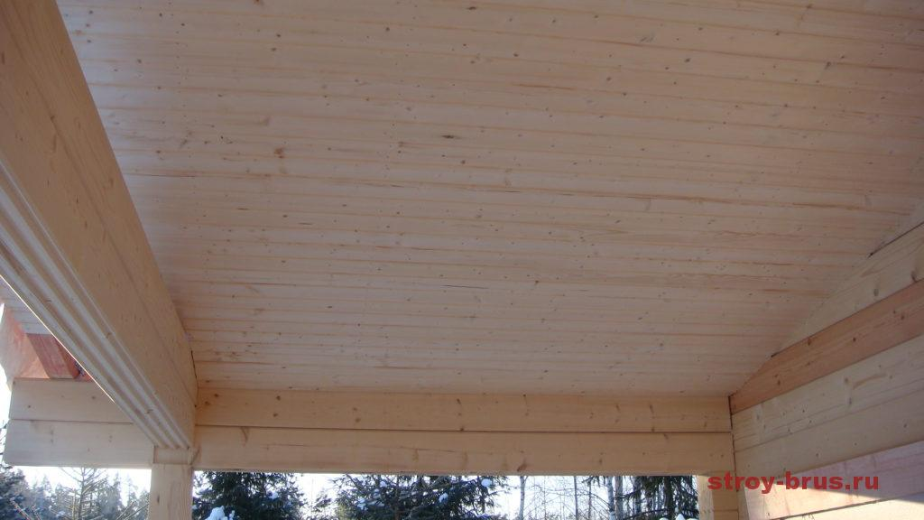 Как сделать потолок на веранде фото 276