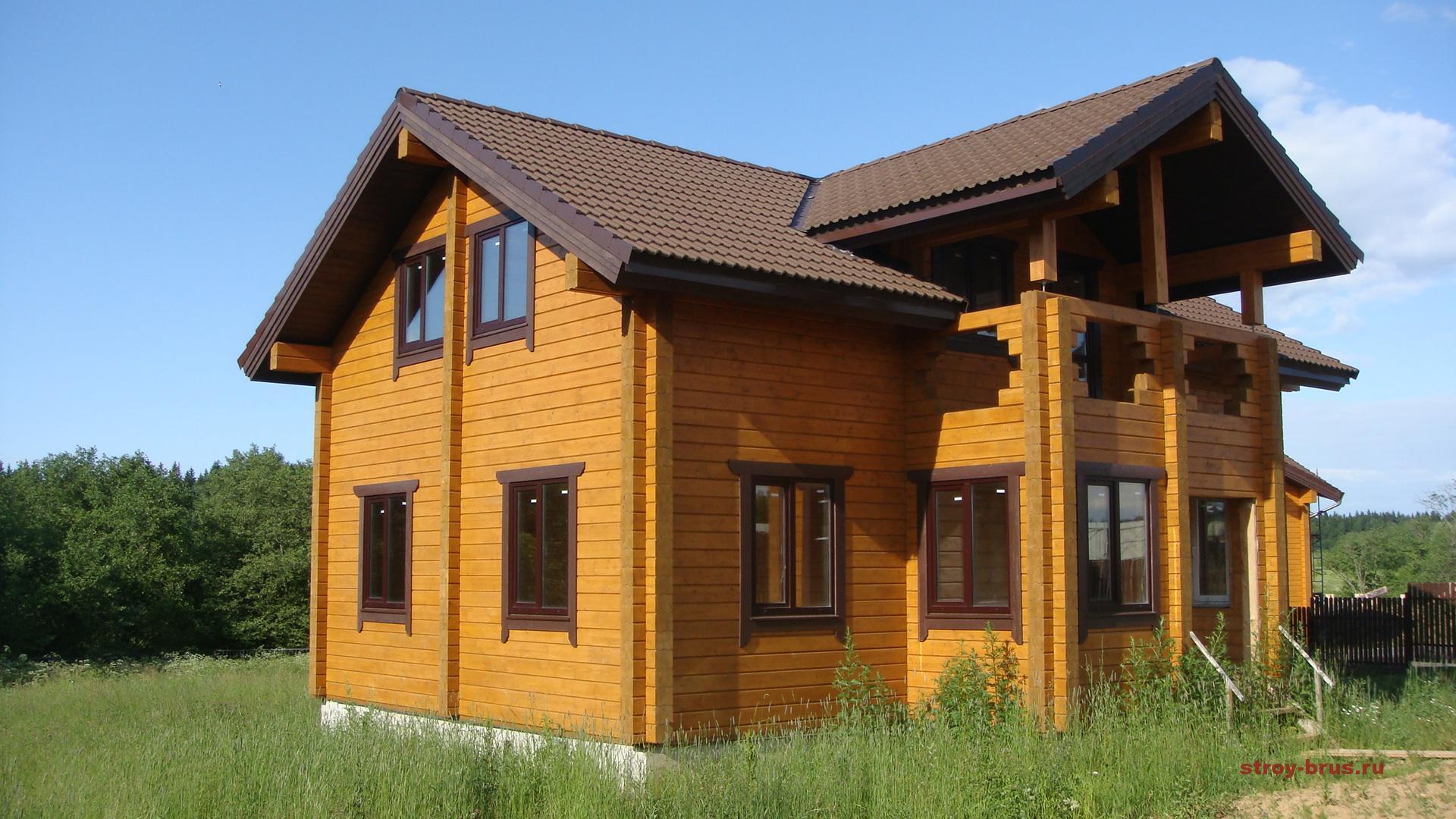 Почему строительство дома из бруса выгодно