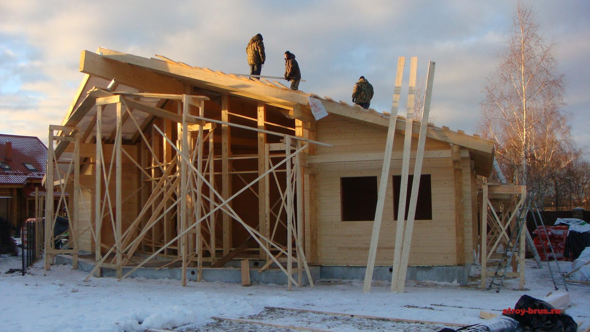 Подготовка крыши к зиме