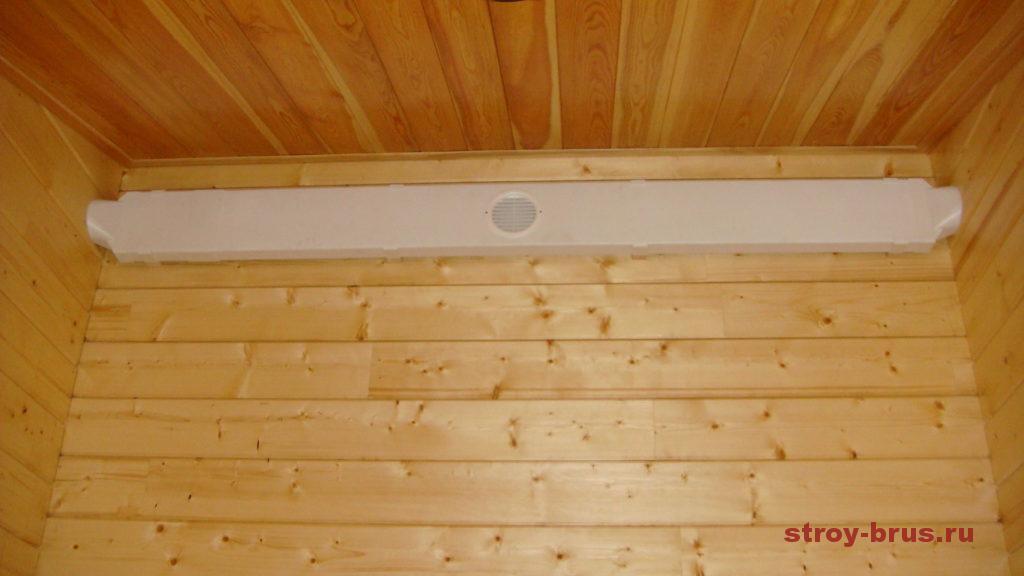 Вентиляция в котельной деревянного дома