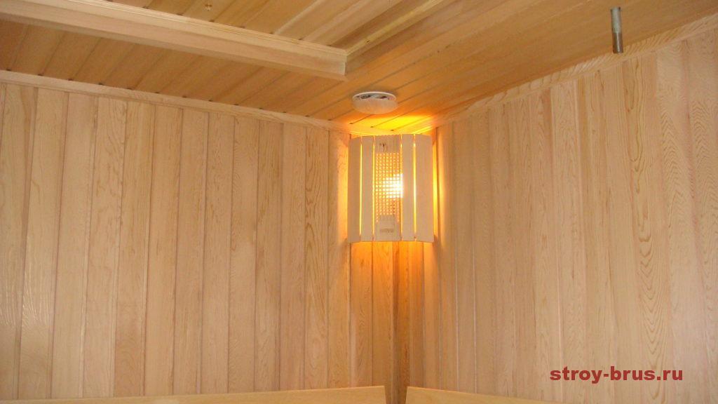 Внутренняя отделка и обустройство бани из бруса