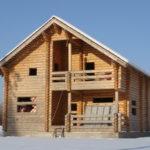 Технология создания и строительства дома из оцилиндрованного бревна