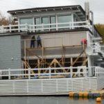 Реконструкция здания из клееного бруса