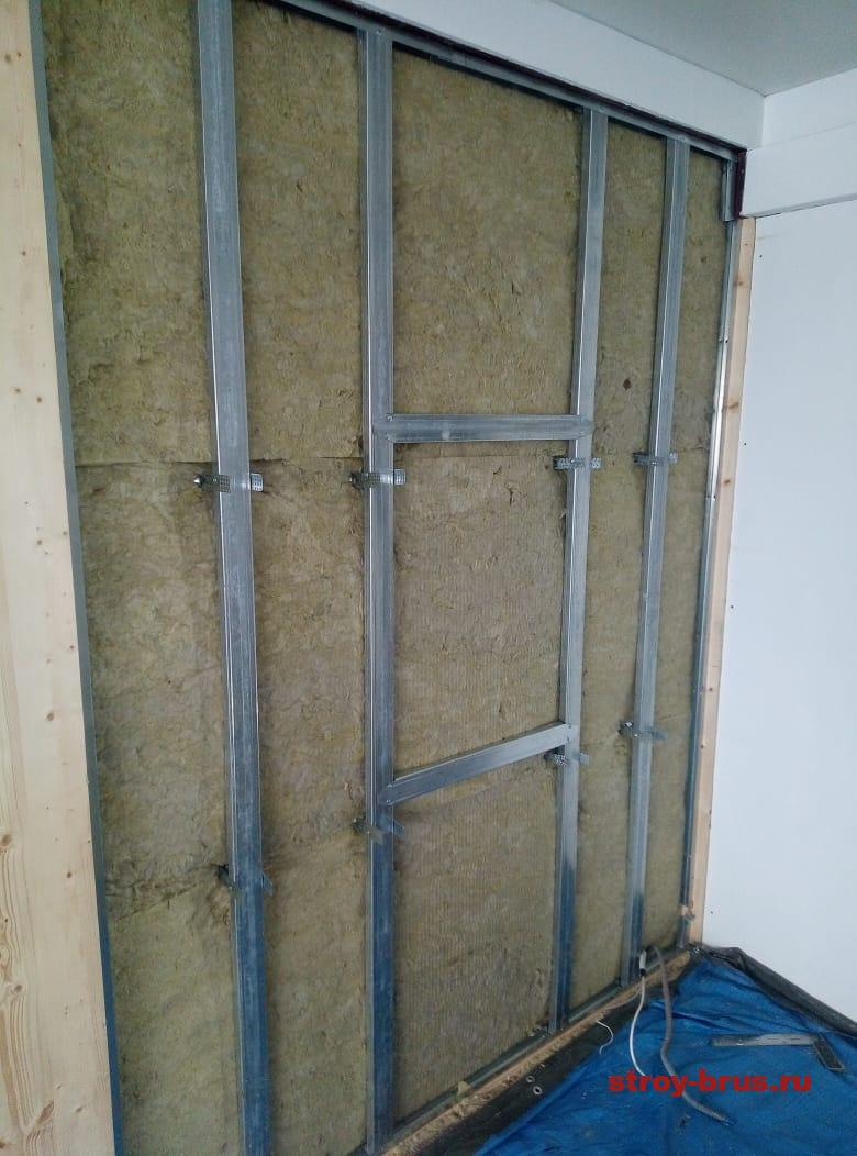 Утепление каркасной стены 2 этажа